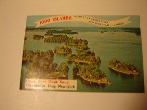 vintage 1000 Islands souvenir booklet photos & historical information 1971 FREE SHIPPING