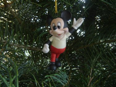 Mickey Mouse collectible ornament Disney Schmid vintage ceramic in original box