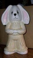 Large Ceramic Twin Bunny