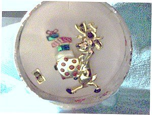 Reindeer with Presents Pin