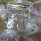 Jeanette Depression Glass Candleholder