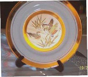 Japanese Saucer, Art of Chokin