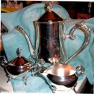 Four Piece Coffee Set by Godinger Silver Arts Co.