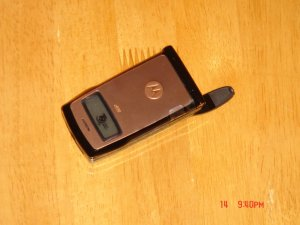 NEW Motorola Nextel i830 Bronze Phone W/Accessories!!!!