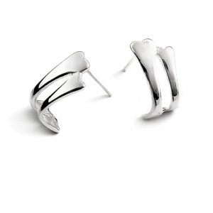 24889- Sterling Silver ear pins