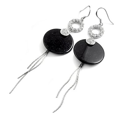 24906-Sterling silver earrings