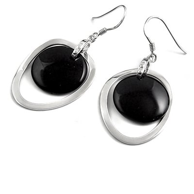 24908-Sterling silver earrings