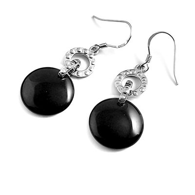 23907-Sterling silver earring