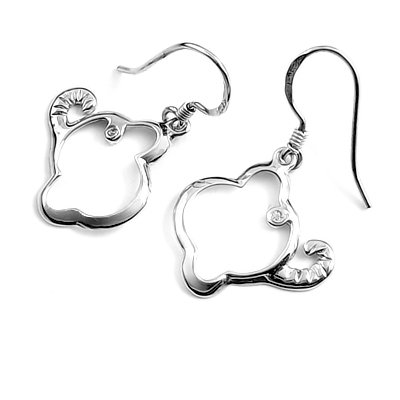 23908-Sterling silver earring