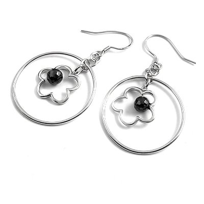 23915-Sterling silver earring