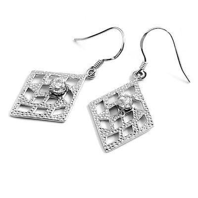 23921-Sterling silver earring