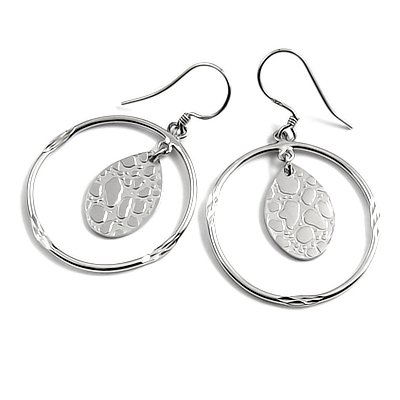 24008-Sterling silver earring
