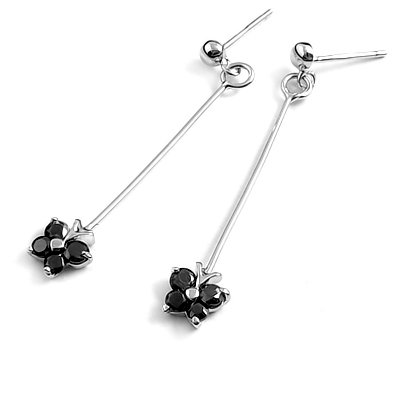 24009-Sterling silver earring