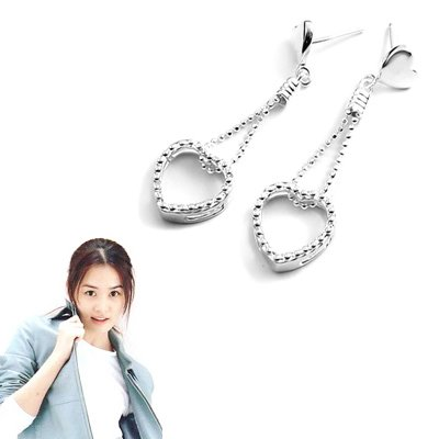 24044-Sterling silver earring