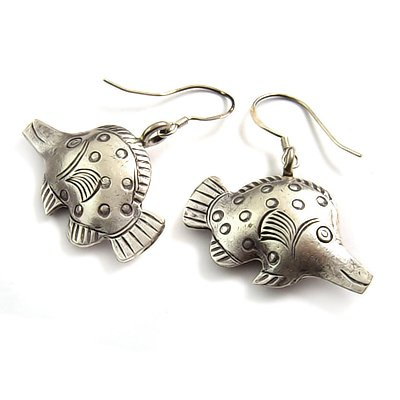 24046-Thailand silver earring