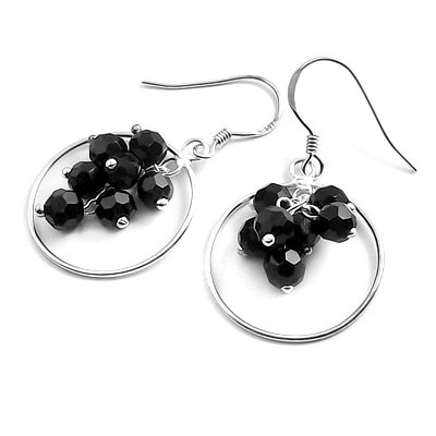 24059-Sterling silver earring