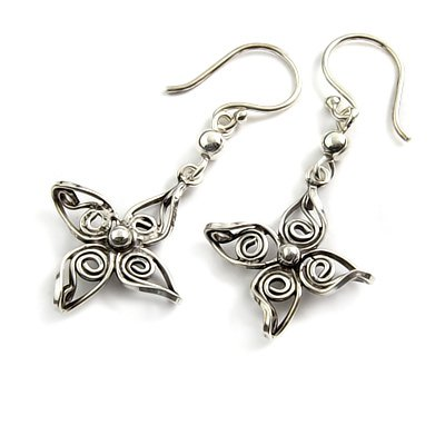 24161-Sterling silver earring