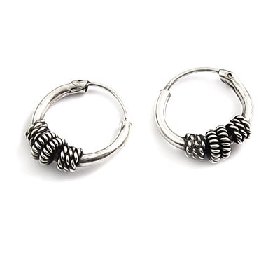 24166- Thailand silver earring