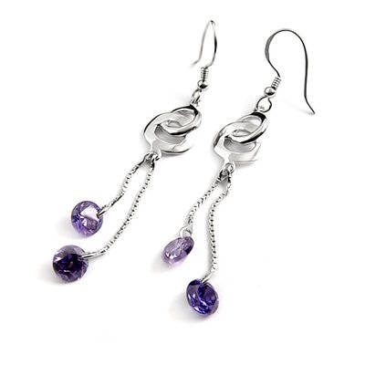 24192-Sterling silver earring