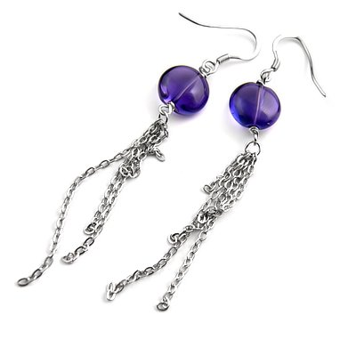 24313-Sterling silver earring