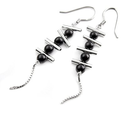 24316-Sterling silver earring