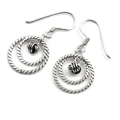 24320-Sterling silver earring