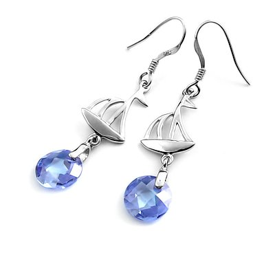 24322-Sterling silver earring