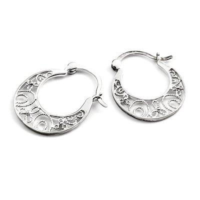 24324-Sterling silver earring