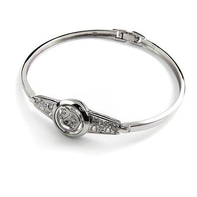 24405-Sterling silver bangel