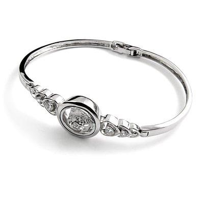 24406-Sterling silver bangel