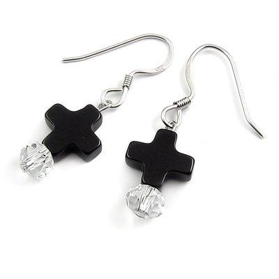 24420-Sterling silver earring