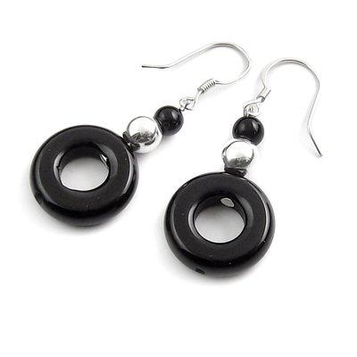 24421-Sterling silver earring