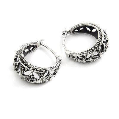 24427-Thailand silver earring
