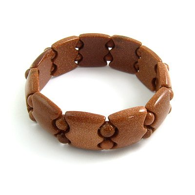 24474-artificail gemstone bracelet
