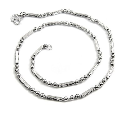 24529-men's sterling silver necklace
