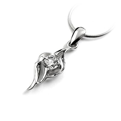24720-  Sterling silver with rhinestoe pendant