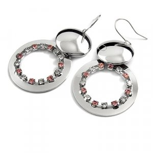 24736-alloy with rhinestoe earring