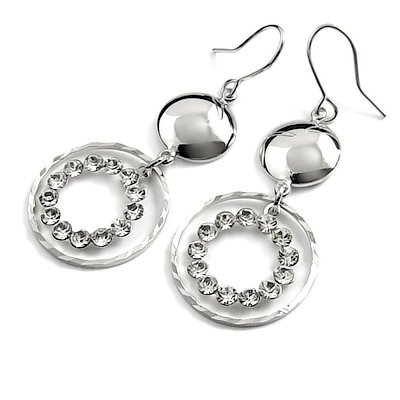24737-alloy with rhinestoe earring