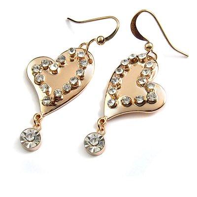 24742-alloy with rhinestoe earring