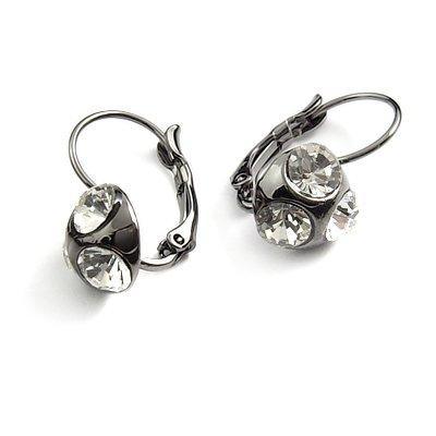24749-alloy with rhinestoe earring