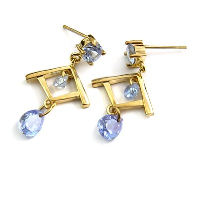 24757-alloy with rhinestoe earring