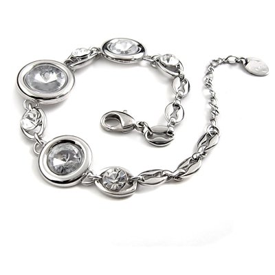 24783- alloy with rhinestoe bracelet