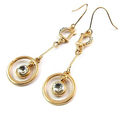 25183-alloy with stone earring