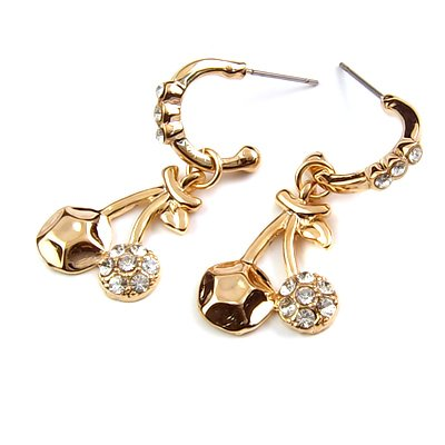 24184-alloy with stone earring