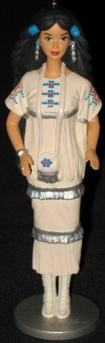 Native American Barbie hallmark keepsake ornament