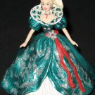 Holiday Barbie - Green/White dress ornament