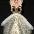 Holiday Barbie - Gold/Ivory Gown ornament