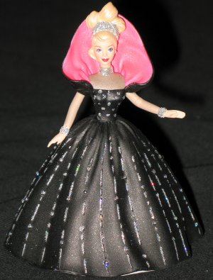 Holiday Barbie - 6th hallmark ornament