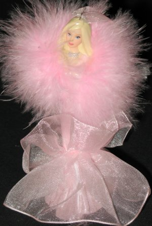 Barbie 2002 Porcelain Ornament