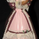 Victorian Barbie with Cedric Bear ornament